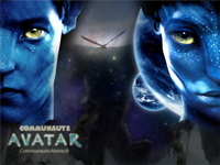 Avatar Space - Formats : standard, iphone, nexus one, HD, autre